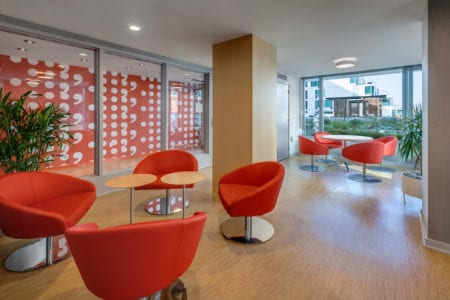 mosso luxury apartment lounge chairs in san francisco