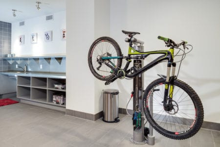 mosso bike room storage amenities in soma san francisco apartments