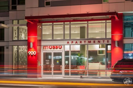 mosso apartment entrance in soma san francisco