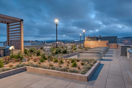 mosso apartments community roof terrace in san francisco
